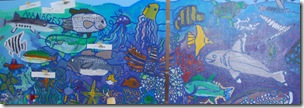 Kingswood Elementary Mural with artist Kelly Sari
